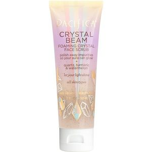 CRYSTAL BEAM FOAMING CRYSTAL FACE SCRUB PACIFICA